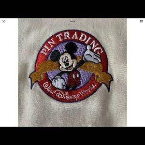 Vintage Walt Disney World Pin Trading Vest Men XXL